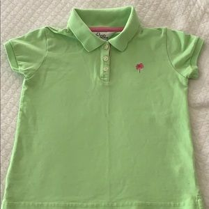 Lilly Pulitzer Green Polo Girl top 7